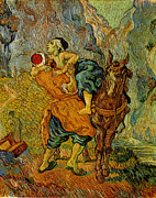 Samaritan Paintings - Samaritan by Vincent Van Gogh