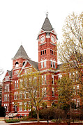Alabama Campus Prints - Samford Hall Print by Erin Johnson
