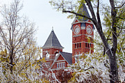 Sec Framed Prints - Samford Hall IIX Framed Print by Victoria Lawrence
