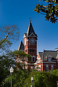 Samford Hall Framed Prints - Samford Hall Framed Print by  Vince Maggio