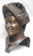 Sculptor Sculpture Originals - Sami Jo Small by JA Fligel