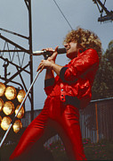 Concert Photos Art - Sammy Hagar at Day on the Green in Oakland CA by Daniel Larsen