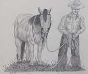 Featured Drawings - Sample by Phyllis Wolf