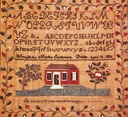 Cities Tapestries - Textiles - Sampler by Martha Southwick