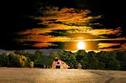 Randall Branham - Sams Road Barn Once ina Blue Moon