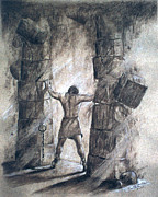 Samson Print by Cati Simon