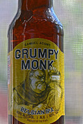Bottled Prints - Samuel Adams Grumpy Monk Ale Print by Bill Owen