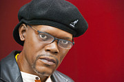 Actor Photo Prints - Samuel L. Jackson Print by Juli Scalzi