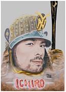 Samurai Ichiro Print by Bas Van Sloten