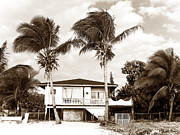 School Houses Framed Prints - San Andres Island Houses Framed Print by John Rizzuto