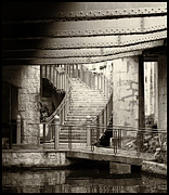 Riverwalk Prints - San Antonio Riverwalk Print by Tony Grider