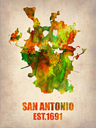 Irina  March - San Antonio Watercolor...