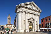 Dorsoduro Prints - San Barnaba church Print by Felipe Rodriguez