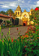 Catholic Art Photo Originals - San Carlos de Borromeo de Carmelo Mission by Jeff Black