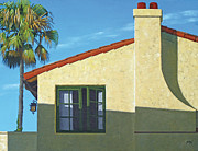 Stucco Paintings - San Clemente by Michael Ward