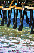 Clemente Photo Prints - San Clemente Pier Print by Mariola Bitner
