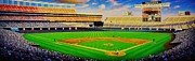 Baseball Stadiums Painting Framed Prints - San Diego Brilliance Framed Print by Thomas  Kolendra