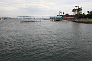 Bay Bridge Prints - San Diego Coronado Bridge 5D24343 Print by Wingsdomain Art and Photography