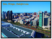 Gaslamp District Posters - San Diego Poster by Glenn McCarthy Art and Photography