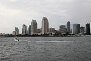 Ballpark Prints - San Diego Skyline 5D24335 Print by Wingsdomain Art and Photography