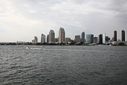 Petco Prints - San Diego Skyline 5D24336 Print by Wingsdomain Art and Photography