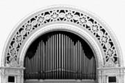 San Diego Spreckels Organ Print by Christine Till