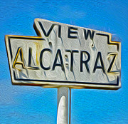 Alcatraz Paintings - San Francisco - Alcatraz - 01 by Gregory Dyer