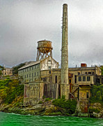 San Francisco - Alcatraz - 03 Print by Gregory Dyer