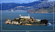 Alcatraz Prints - San Francisco Alcatraz Island Print by Robert Santuci