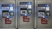 Train Stations Photos - San Francisco BART Station Ticket Machines - 5D20617 - v2 by Wingsdomain Art and Photography