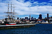 Sailing Ship Framed Prints - San Francisco Bay Framed Print by Aidan Moran