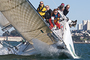 Racer Photos - San Francisco Big Boat Series by Steven Lapkin
