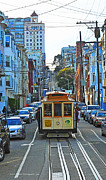 Author and Photographer Laura Wrede - San Francisco Cable Car...