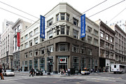 Crosswalks Prints - San Francisco Charles Schwab on Kearney Street - 5D17865 Print by Wingsdomain Art and Photography