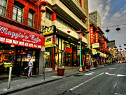 Cityscape Art - San Francisco - Chinatown 005 by Lance Vaughn