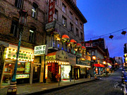 Chinese Lanterns Prints - San Francisco - Chinatown 007 Print by Lance Vaughn