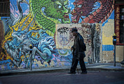 San Francisco Chinatown Street Art Print by Juli Scalzi