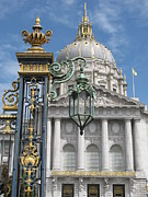 Alfred Ng Metal Prints - San Francisco City Hall Metal Print by Alfred Ng