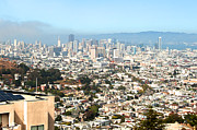 San Francisco City Vista Print by Artist and Photographer Laura Wrede
