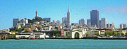 San Francisco - Cityscape - 01 Print by Gregory Dyer