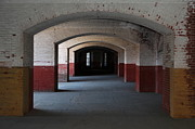 Vaulted Ceilings Posters - San Francisco Fort Point 5D21544 Poster by Wingsdomain Art and Photography