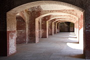 Hallways Prints - San Francisco Fort Point 5D21545 Print by Wingsdomain Art and Photography