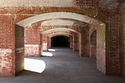 Vaulted Ceilings Posters - San Francisco Fort Point 5D21546 Poster by Wingsdomain Art and Photography