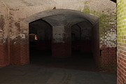Vaulted Ceilings Posters - San Francisco Fort Point 5D21548 Poster by Wingsdomain Art and Photography