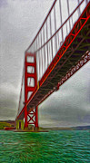 San Francisco - Golden Gate Bridge - 02 Print by Gregory Dyer
