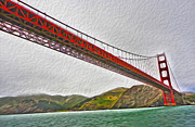 San Francisco - Golden Gate Bridge - 03 Print by Gregory Dyer