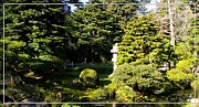 Robert Plant Print Art - San Francisco Golden Gate Park Japanese Tea Garden 1 by Robert Santuci