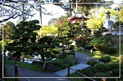 Japanese Village Prints - San Francisco Golden Gate Park Japanese Tea Garden 6 Print by Robert Santuci