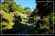 San Francisco Golden Gate Park Japanese Tea Garden 7 Print by Robert Santuci