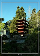 Japanese Village Prints - San Francisco Golden Gate Park Japanese Tea Garden 8 Print by Robert Santuci